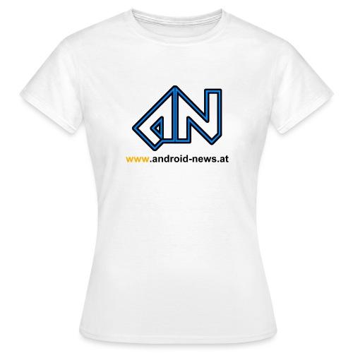 Android News Schwarz - Frauen T-Shirt