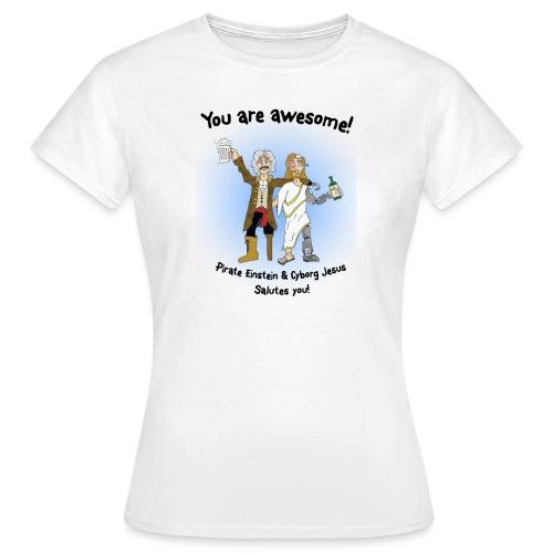 awesome - T-skjorte for kvinner