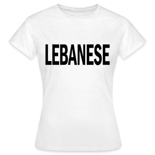 LEBANESE png - Women's T-Shirt