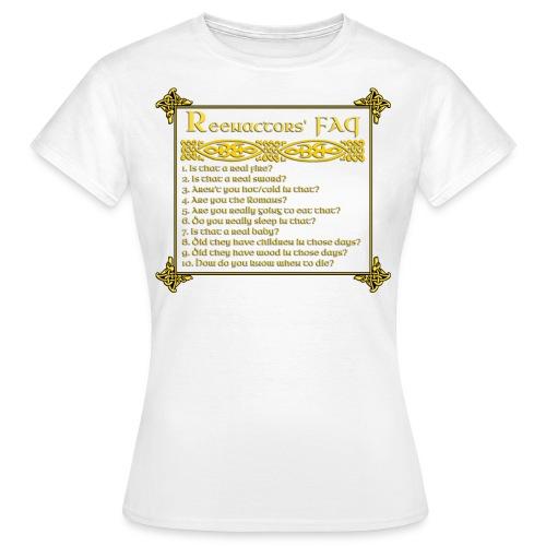 FAQ3 png - Women's T-Shirt