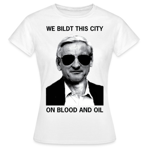 We Bildt This City - T-shirt dam