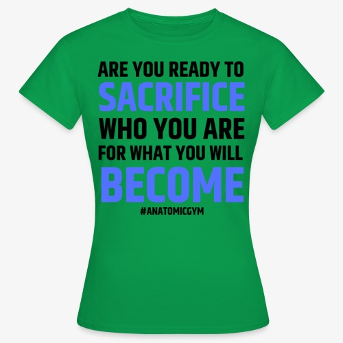 ARE YOU READY - T-shirt Femme
