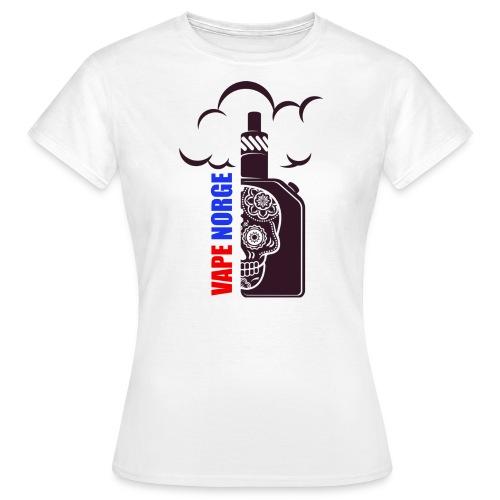 VAPE NORGE - T-skjorte for kvinner