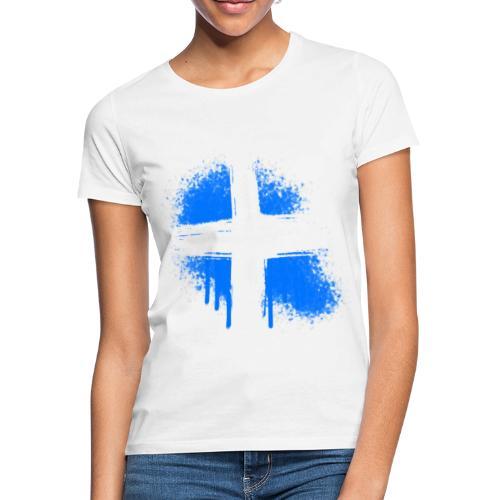 Graffiti Kreuz - Frauen T-Shirt