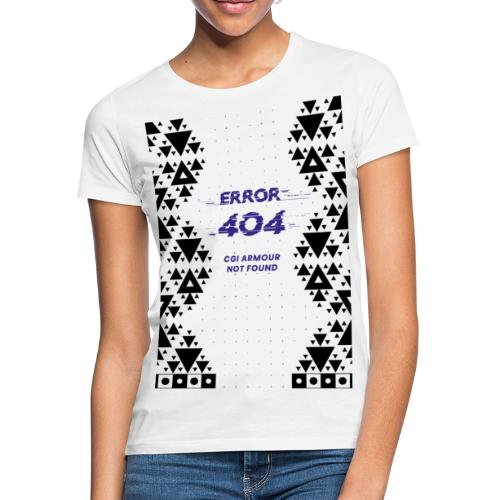 Error404 - CGI Armour Not Found - Frauen T-Shirt