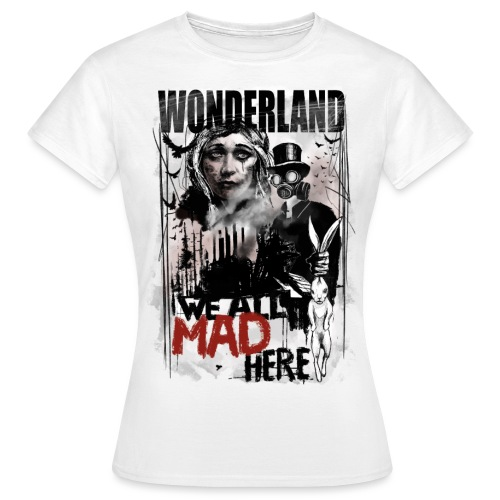 WONDERLAND - Frauen T-Shirt