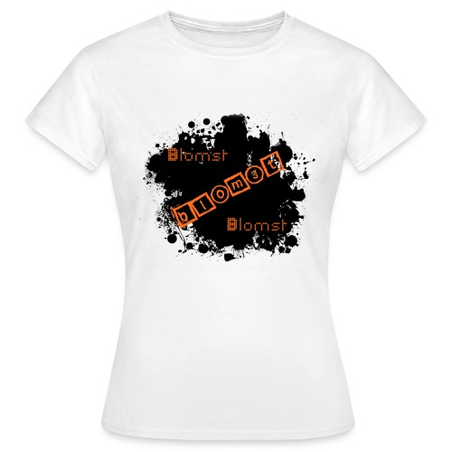 blomst tryk png - Dame-T-shirt
