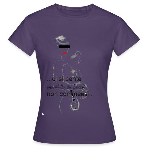 cicciolina peccato 2 png - Maglietta da donna