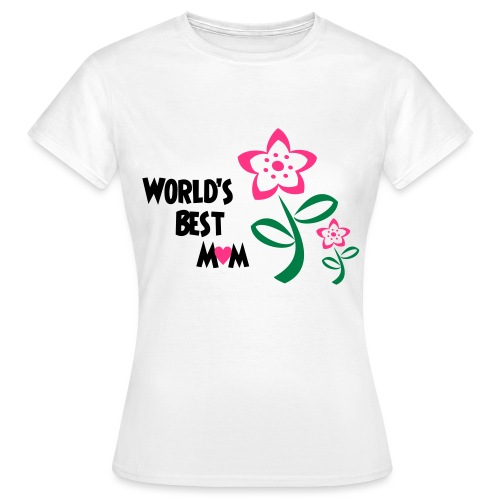 World's Best Mum - Women's T-Shirt