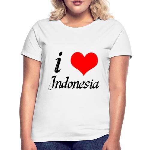 iloveindonesia png - Vrouwen T-shirt