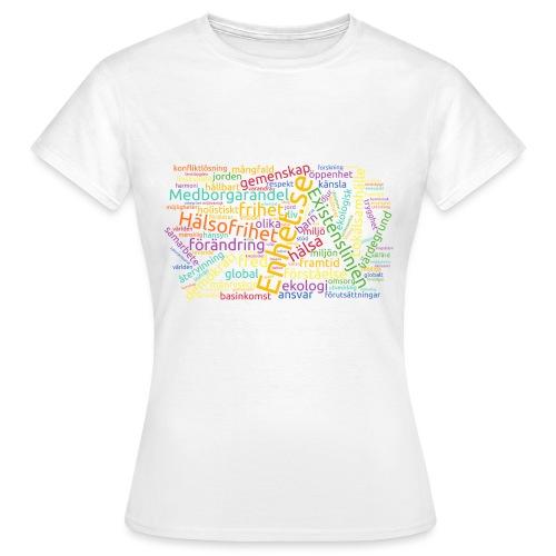 En känsla av Enhet - T-shirt dam