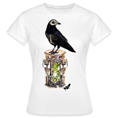 'Memento Mori' by BlackenedMoonArts - Dame-T-shirt