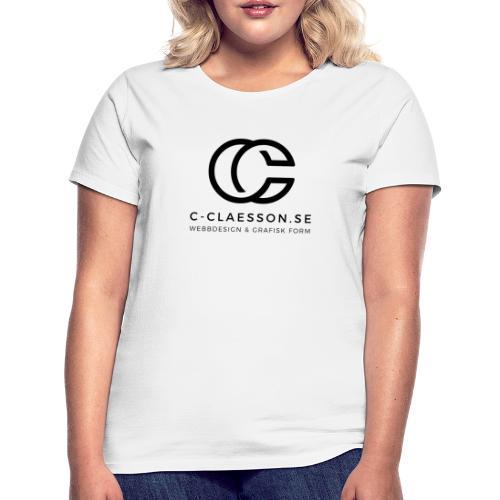 C-Claesson Webbdesign - T-shirt dam