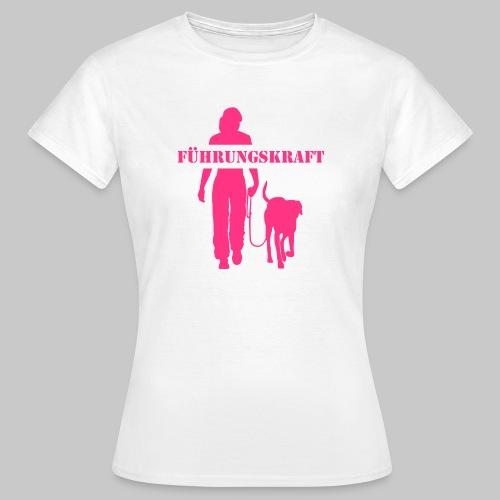 Führungskraft female - Frauen T-Shirt
