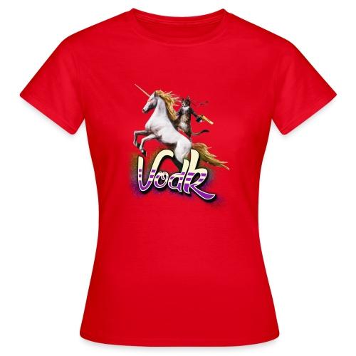 VodK licorne png - T-shirt Femme
