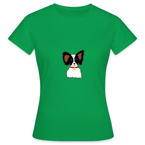Papillon dog - Women's T-Shirt