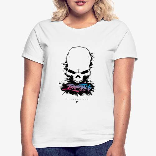 ZF Immortals Skull - Women's T-Shirt