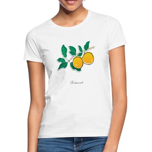 Disegno pianta di arance - Maglietta da donna