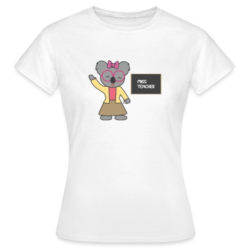 Miss Teacher - Frauen T-Shirt