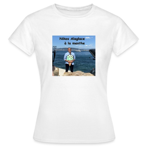 Nikos Alaglace - T-shirt Femme
