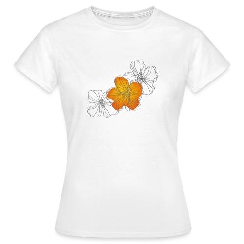 Flowers - Camiseta mujer