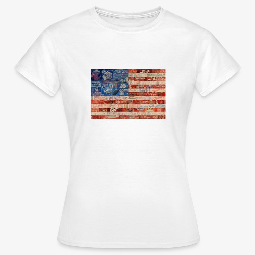 America flag - Women's T-Shirt