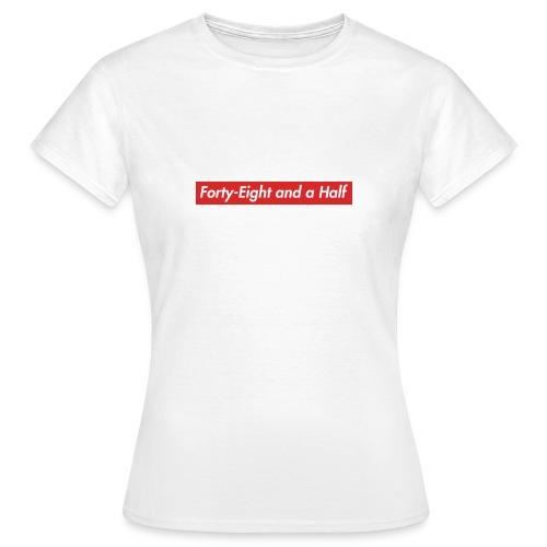48 1/2 - T-skjorte for kvinner