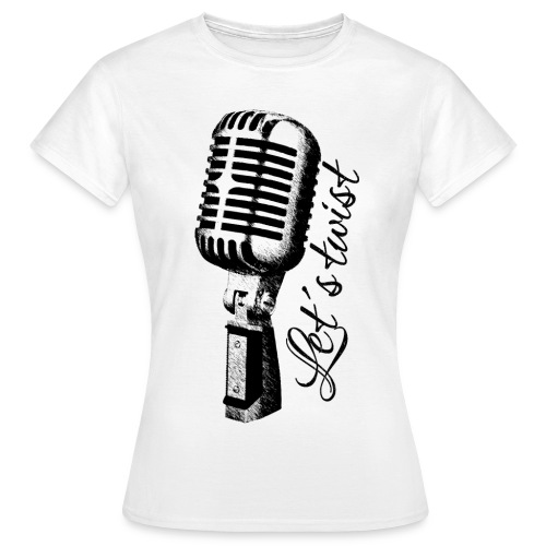 Mikrofon - Frauen T-Shirt