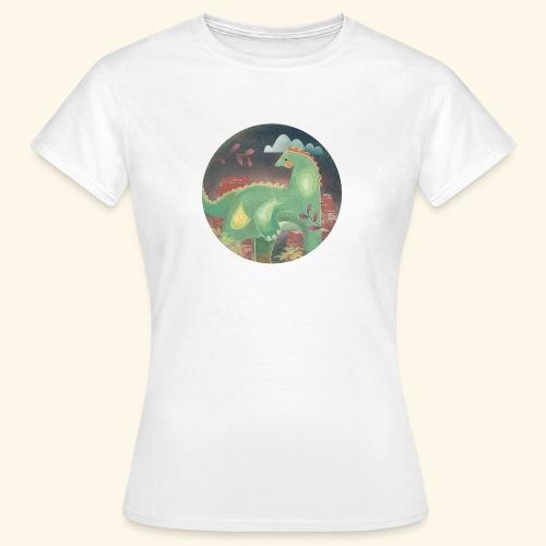 Dinosaur in the landscape - Maglietta da donna