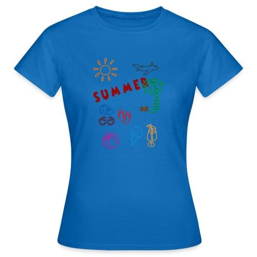 Summer - Naisten t-paita