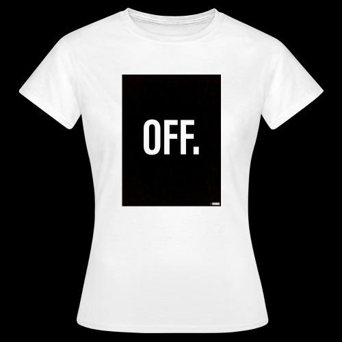 OFF. - T-shirt Femme