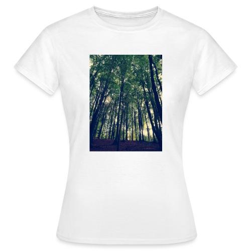 Wood Turnbeutel - Frauen T-Shirt