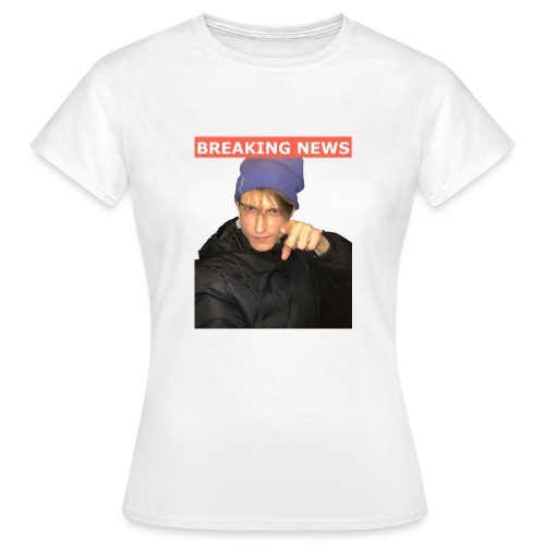 Breaking News - Dame-T-shirt