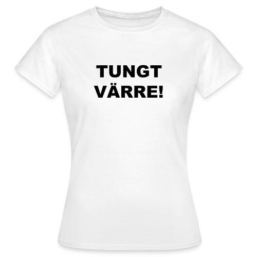 TUNGT - T-shirt dam