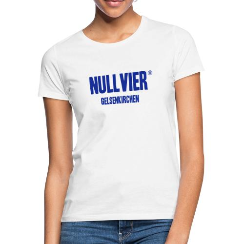 NULLVIER BLUE - Frauen T-Shirt