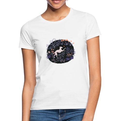 Windhund im Traumwald - Frauen T-Shirt