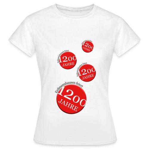 Erdmannhausen1200Logo2 png - Frauen T-Shirt