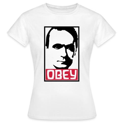OBEY Rudolf Steiner - Frauen T-Shirt