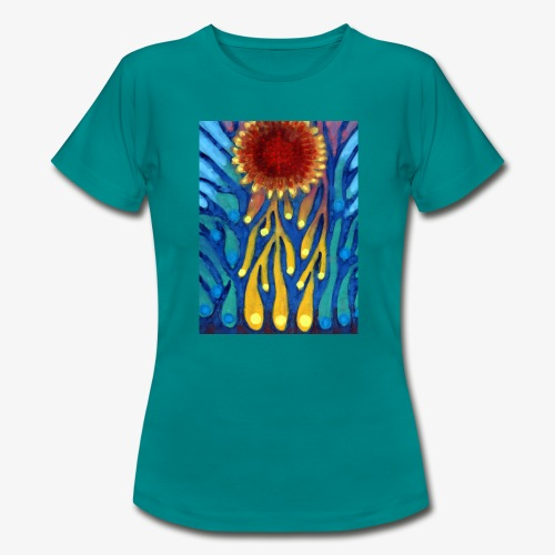 Chore Słońce - Koszulka damska