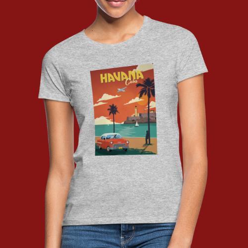 cuba - T-skjorte for kvinner