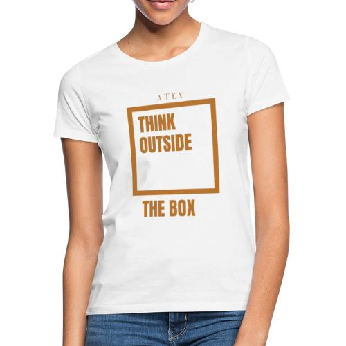 Think out the box - Camiseta mujer