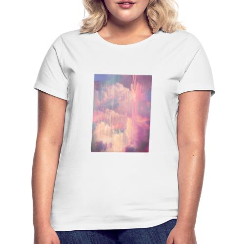 CANDY GLITCHED SKY - Women's T-Shirt