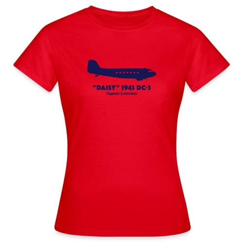Daisy Silhouette Side 2 - T-shirt dam