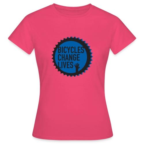 BCL Blue Cog - Women's T-Shirt