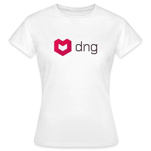 dng logo02 - Women's T-Shirt