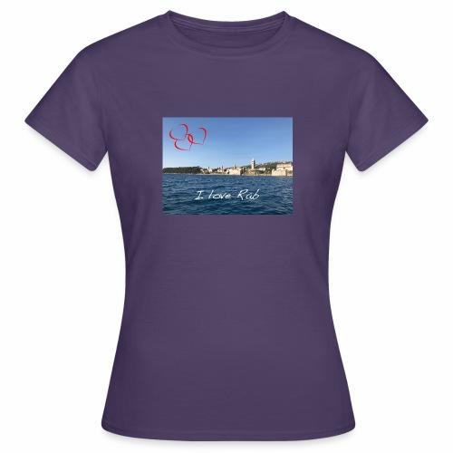 I love Rab - Frauen T-Shirt