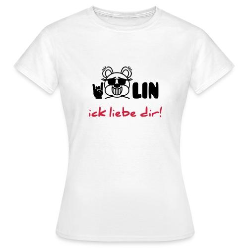 Berlin ick liebe dir / Bärlin - Frauen T-Shirt