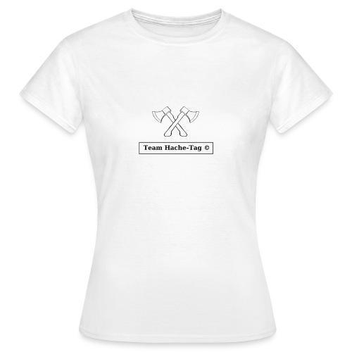 Logo Team Hache-Tag - T-shirt Femme