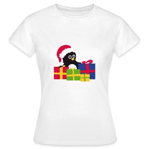 Pingouin de Noël - T-shirt Femme