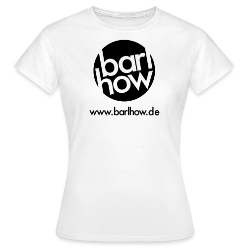 barlhow Logo schwarz - Frauen T-Shirt